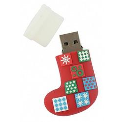 """Аксессуары Hemline Устройство USB """"Рождественский носок"""" 2GB"""