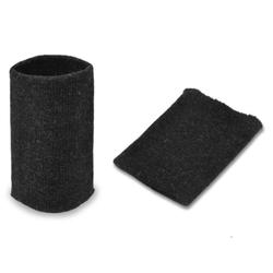 Манжеты трикотаж.акрил-100%-2 шт. антрацит р.7,5x10 см