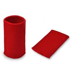 Манжеты трикотаж.акрил-100%-2 шт красный р.7,5x10 см