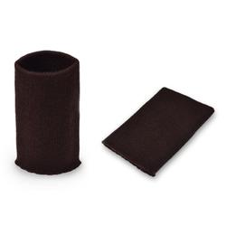 Манжеты трикотаж.акрил-100%-2 шт шоколад, р.7,5x10 см