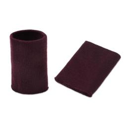 Манжеты трикотаж.акрил-100%-2 шт, бордо р.7,5x10 см