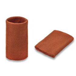 Манжеты трикотаж.акрил-100%-2 шт,кирпичн. р.7,5x10 см