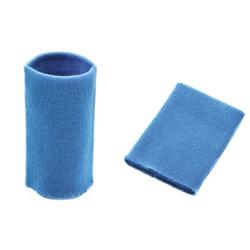 Манжеты трикотаж.акрил-100%-2 шт, голубой р.7,5x10 см