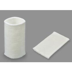 Манжеты трикотаж. -акрил-100%, (2 шт), белый р.7,5x10 см