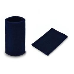 Манжеты трикотаж.акрил-100%-2 шт, синий р.7,5x10 см