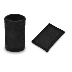 Манжеты трикотаж.акрил-100%-2 шт. черн. р.7,5x10 см