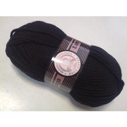 Пряжа Madame Tricote Paris Tango 999 цв. Черный
