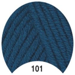 Пряжа Madame Tricote Paris Tango 101 цв. морская волна