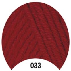 Пряжа Madame Tricote Paris Tango 033 цв. Красный