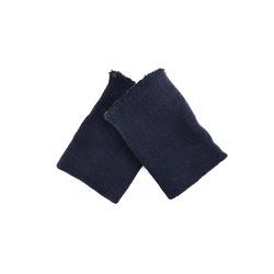 Аксессуары МАГ Манжеты трикотажные,2 шт, т.синий. р.8x10 см