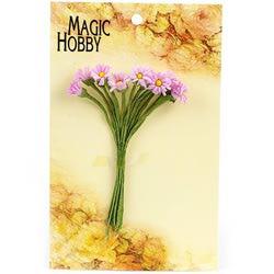 Цветы бумажные MAGIC HOBBY уп.12шт