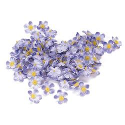 """Цветы для декорирования """"Незабудка"""", уп. 108 шт (цв. сиреневый)"""