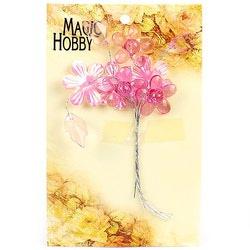 """Цветы акриловые """"Magic Hobby"""" (цв. 1 розовый)"""