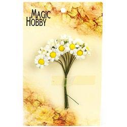 Цветы бумажные MAGIC HOBBY уп.10шт