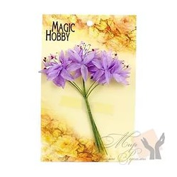 Цветы бумажные MAGIC HOBBY уп.6шт