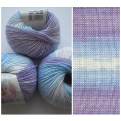 Пряжа Alize Baby Wool Batik 3566