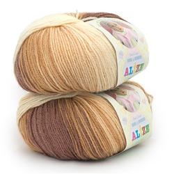 Пряжа Alize Baby Wool Batik 3050