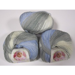 Пряжа Alize Baby Wool Batik 4692
