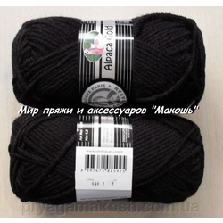 Пряжа Madame Tricote Paris Alpaca Gold 999